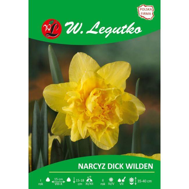 Narcyz - Dick Wilden - pełny - żółty