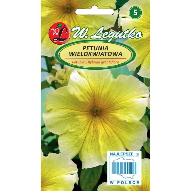 Petunia ogrodowa żółta