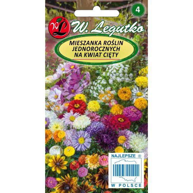 Mieszanka roślin jednorocznych na kwiat cięty