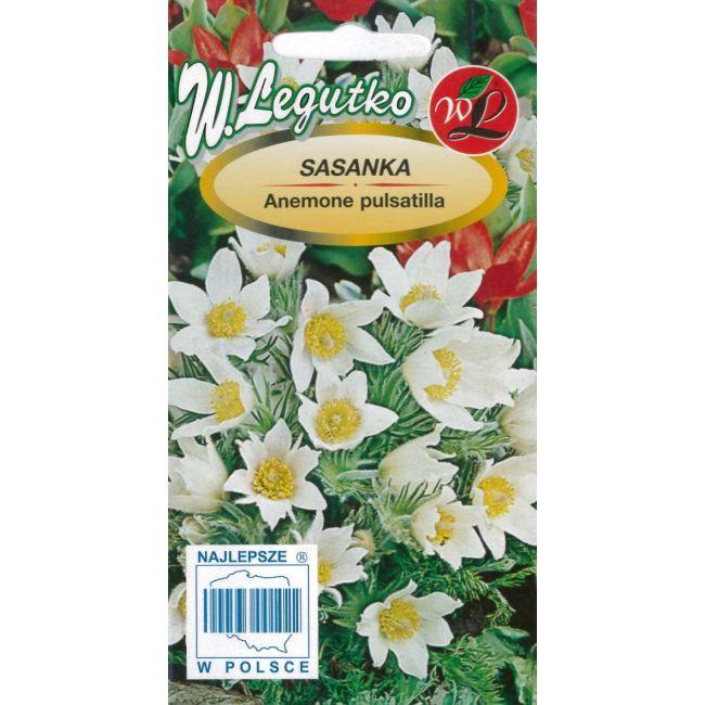 Sasanka - biała (nasiona otarte)