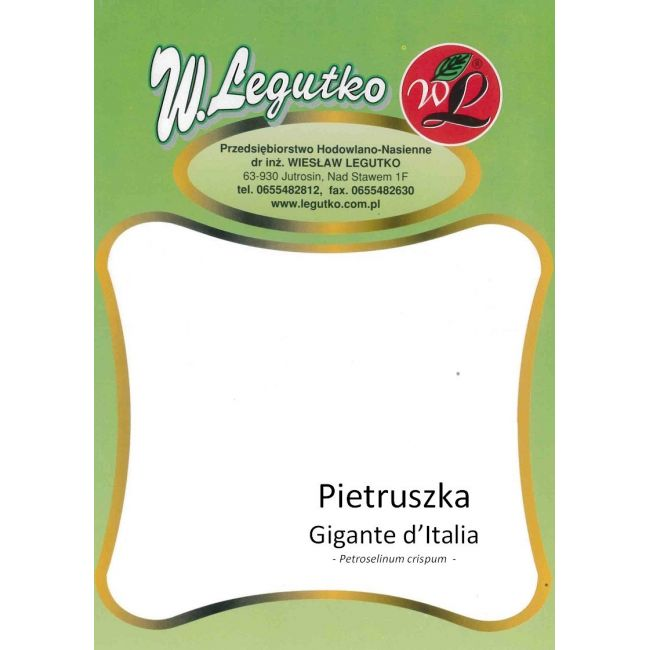 Pietruszka Gigante d'Italia - 50g