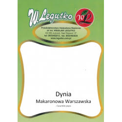 Dynia Makaronowa Warszawska - 100g