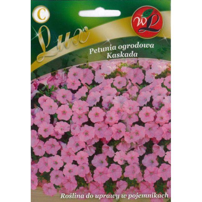 Petunia ogrodowa Kaskada - różowy
