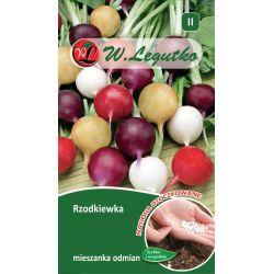 Rzodkiewka - mieszanka odmian o zgrubieniach kulistych - 300szt. nasion