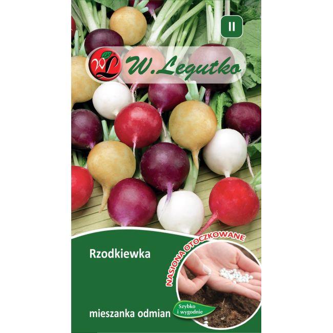 Rzodkiewka - mieszanka odmian - 300szt. nasion
