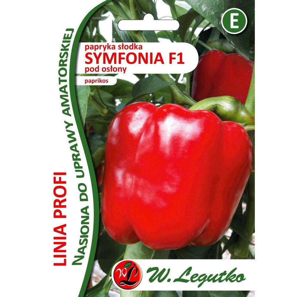 papryka słodka Symfoia F1- czerwona, typu bloku