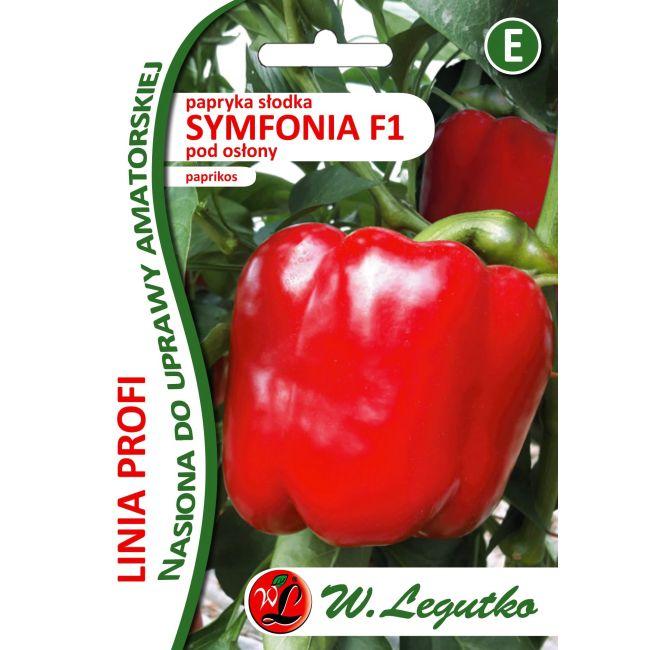 Papryka słodka Symfonia F1- czerwona, typu bloku