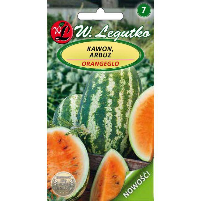 Arbuz, Kawon - Orangeglo - miąższ pomarańczowy