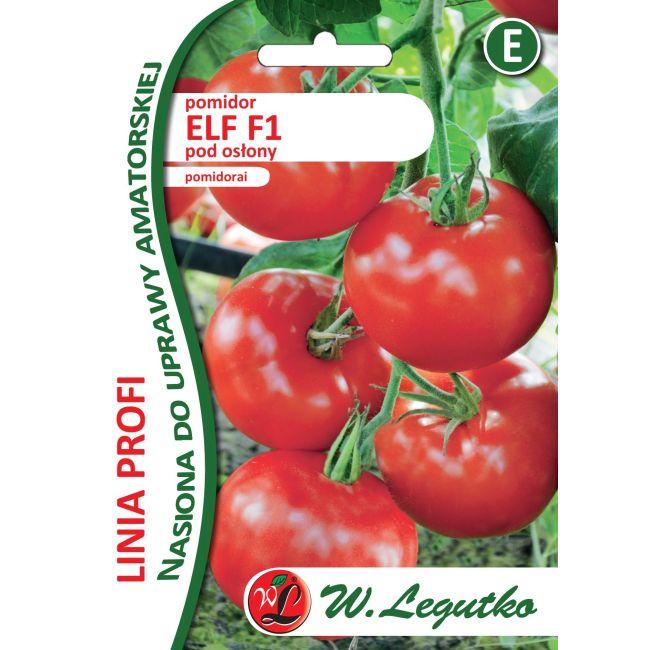 Pomidor - Elf F1 - czerowny, mięsisty - NOWOŚĆ