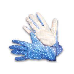 Rękawice ogrodnicze Doris - niebiesko-lawendowe - rozmiar 9