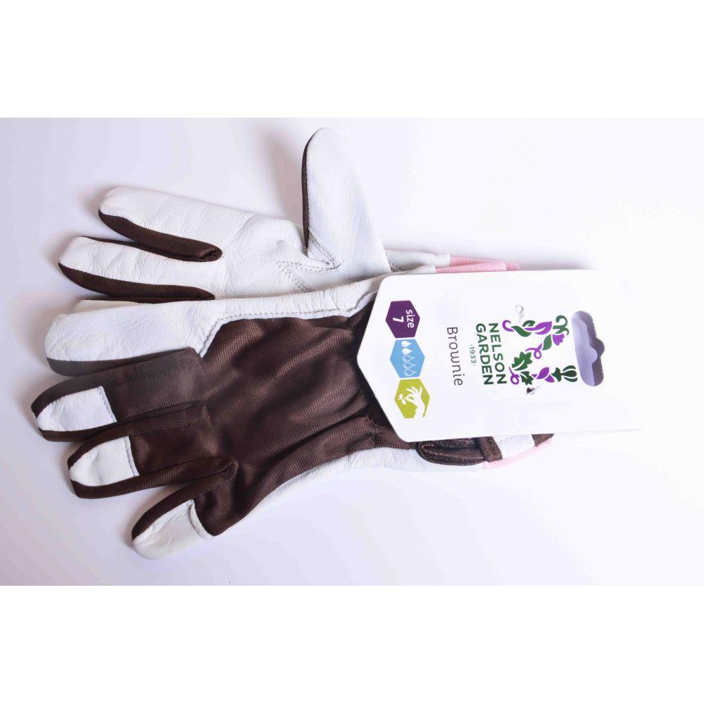 Rękawice ogrodnicze Brownie