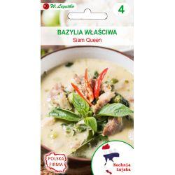 Kuchnie świata - Bazylia właściwa Siam Queen
