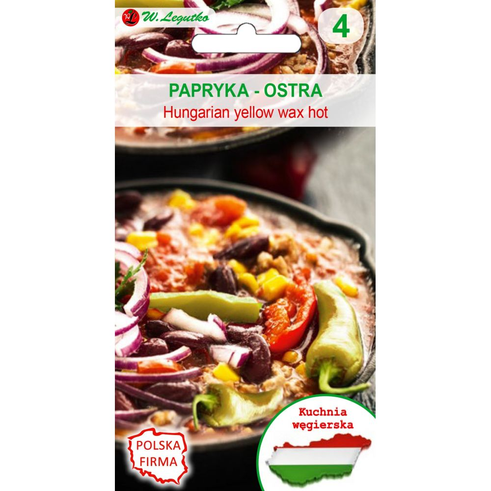 Kuchnie świata - Papryka Hungarian yellow wax hot