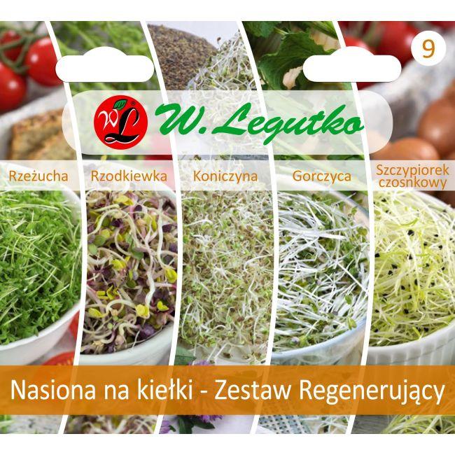 Nasiona na kiełki – Zestaw Regenerujący