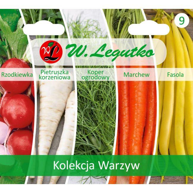 Kolekcja Warzyw Polskich - 5 gatunków
