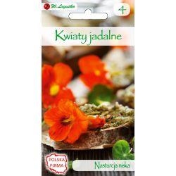 Kwiaty jadalne - Nasturcja niska