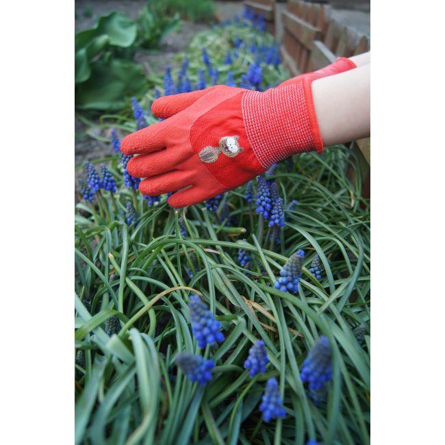 Rękawice ogrodnicze dziecięce rozmiar 5