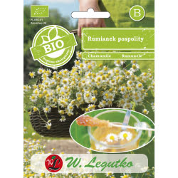 BIO - Rumianek pospolity/Matricaria chamomilla///0.10g_B
