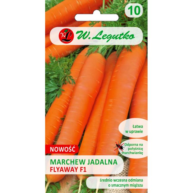Marchew jadalna/Daucus carota/Flyaway F1/pomarańczowe/0.50g