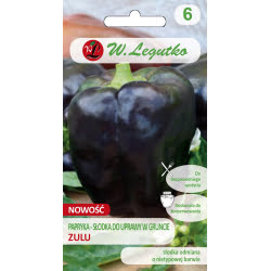 Papryka/Capsicum annuum/Zulu/czarne/0.50g