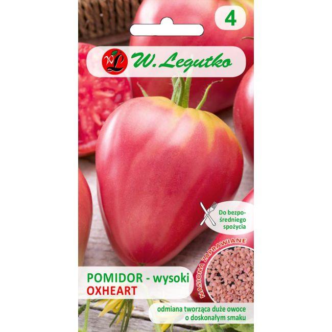 Pomidor/Solanum lycopersicum/Oxheart/różowe/0.20g-NI