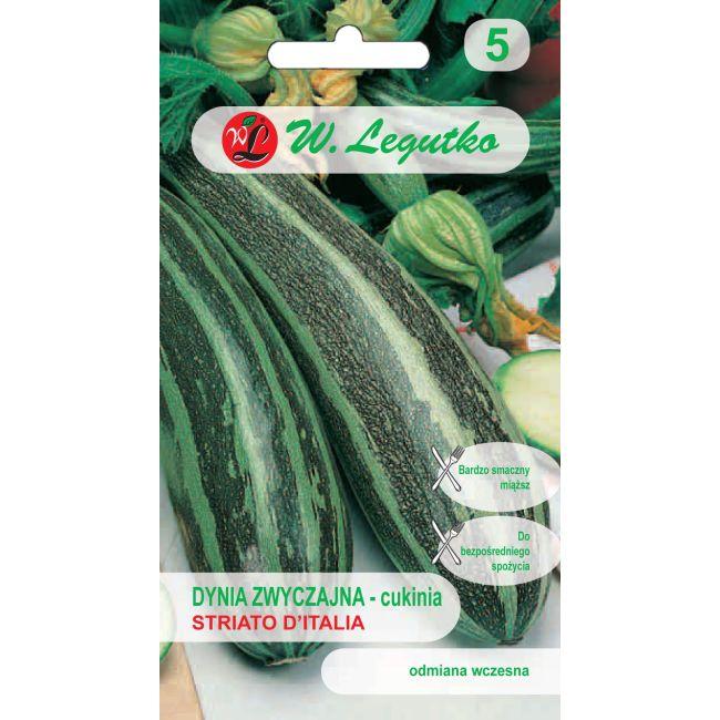 Dynia zwyczajna - cukinia - Striato d' Italia