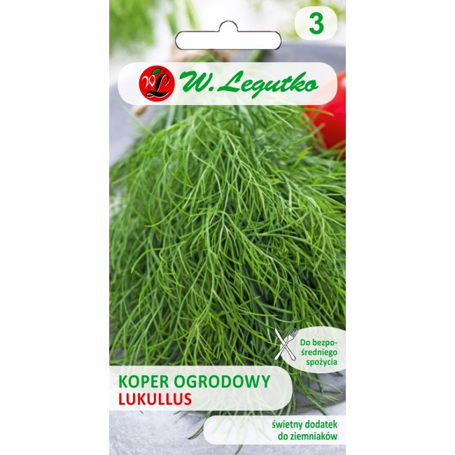 Koper ogrodowy - Lukullus