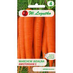 Marchew jadalna/Daucus carota/Amsterdam 2/pomarańczowe/5.00+1.00