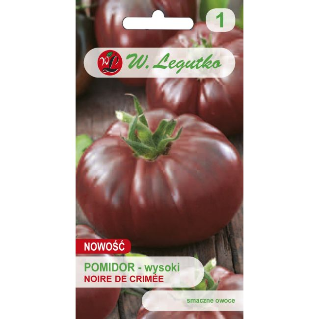 Pomidor gruntowy wysoki - Noire de Crimee
