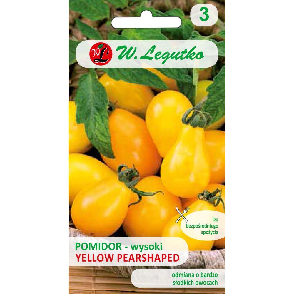 Pomidor gruntowy wysoki Yellow Pearshaped - typ ''cherry ''