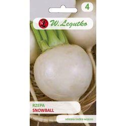 Rzepa/Brassica rapa var. rapa/Snowball/białe/5.00