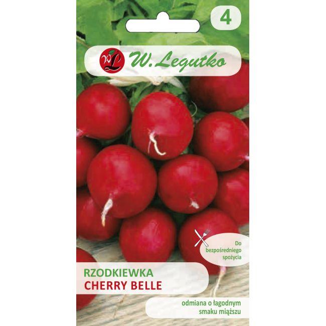 Rzodkiewka okrągła - Cherry Belle - 5g