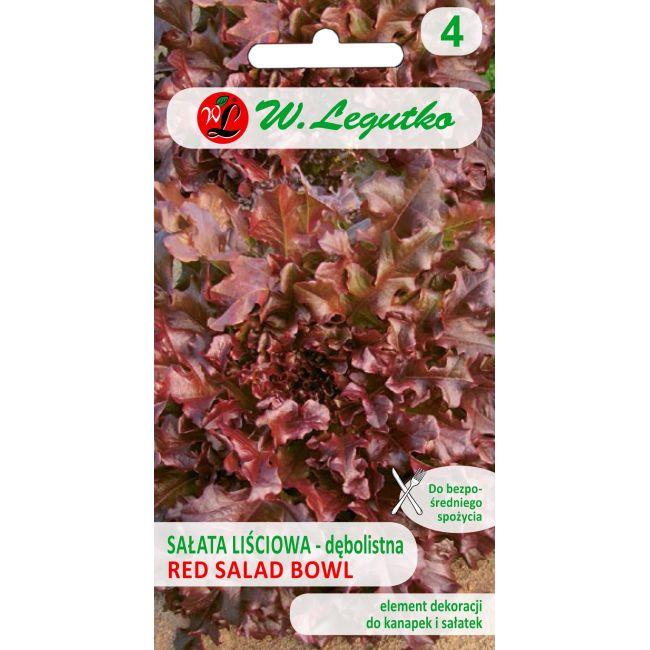 Sałata liściowa RED SALAD BOWL