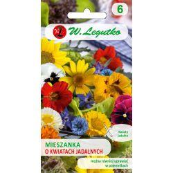 Mieszanka roślin o kwiatach jadalnych