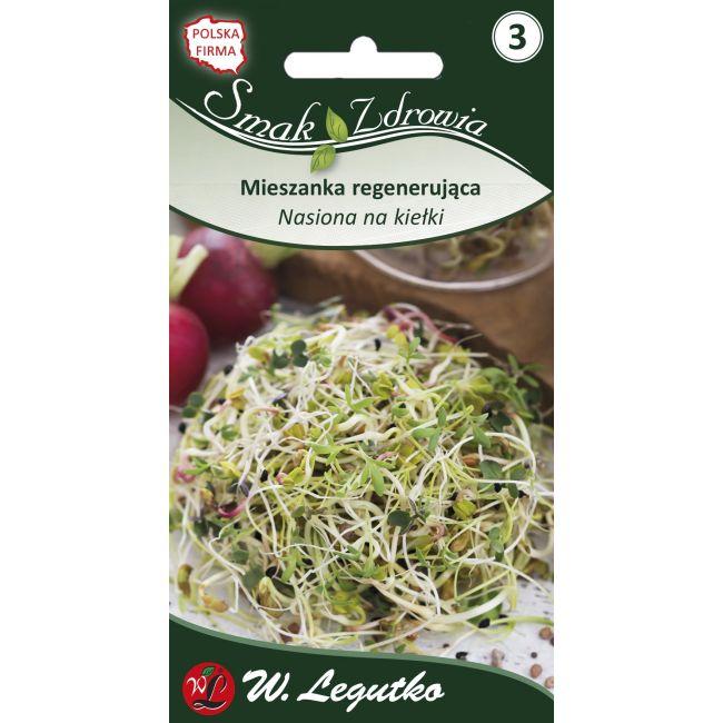 Nasiona na kiełki - Mieszanka regenerująca