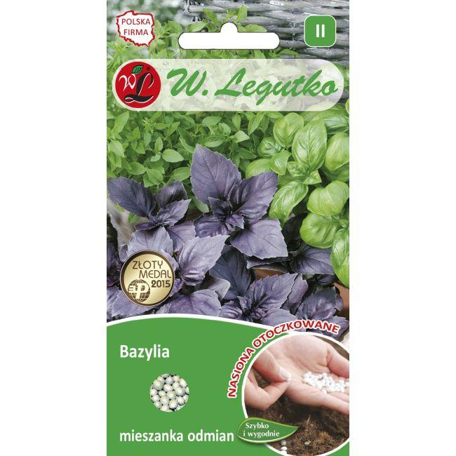 Bazylia mieszanka odmian - 50 szt. nasion