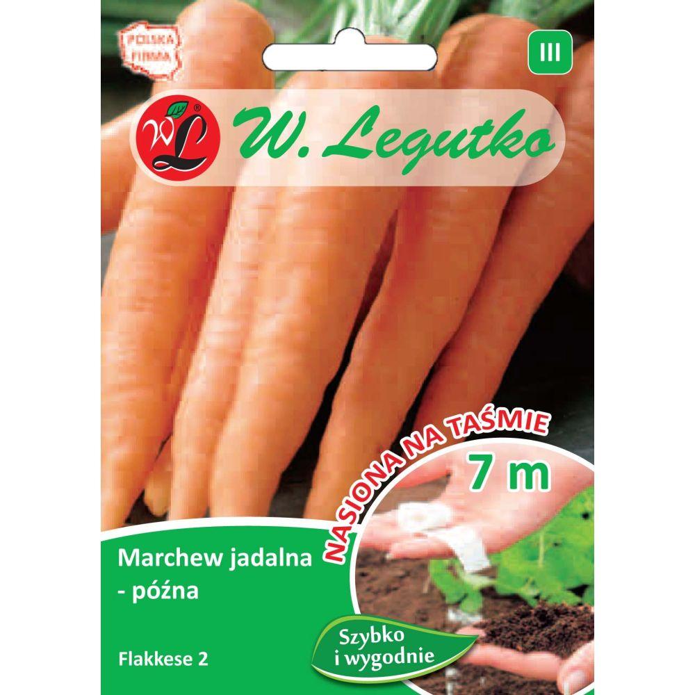 Marchew jadalna - Flakkese 2 - taśma 7m