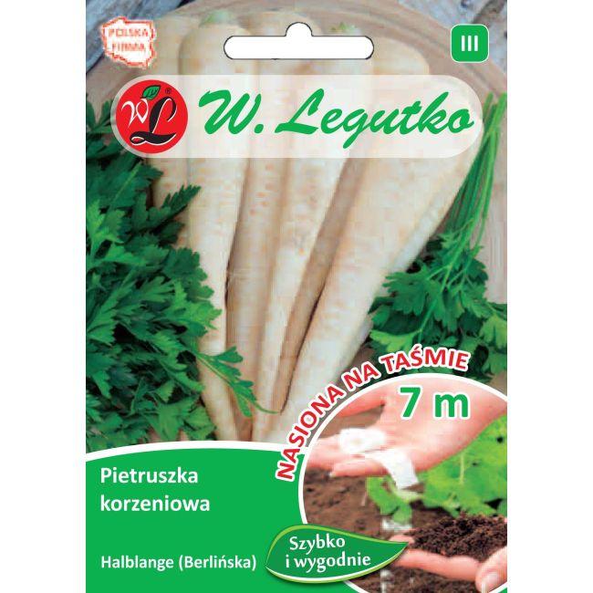 Pietruszka korzeniowa - Halblange - taśma 7m