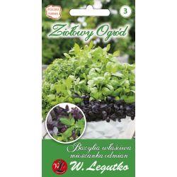 Bazylia właściwa/Ocimum basilicum/mieszanka odmian//0.50g