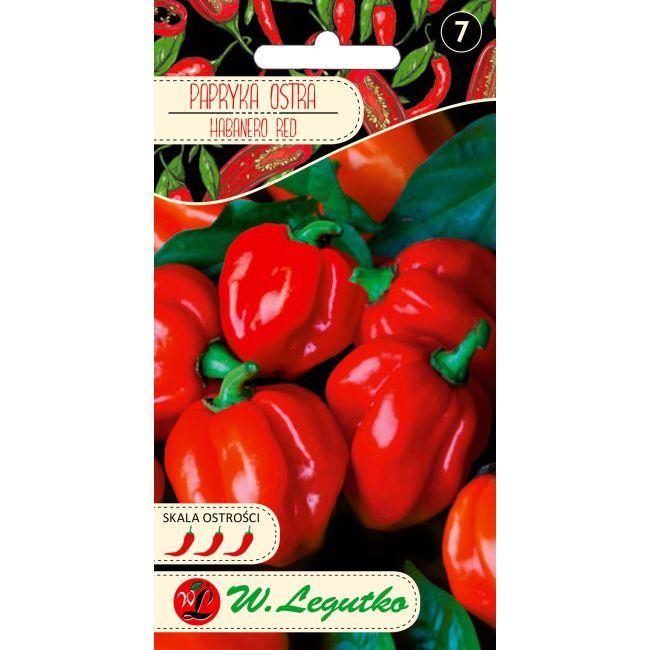 Papryka chińska/Capsicum chinense/Habanero Red/czerwone/0.15g