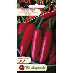 Papryka/Capsicum annuum/Serrano/czerwone/0.15g