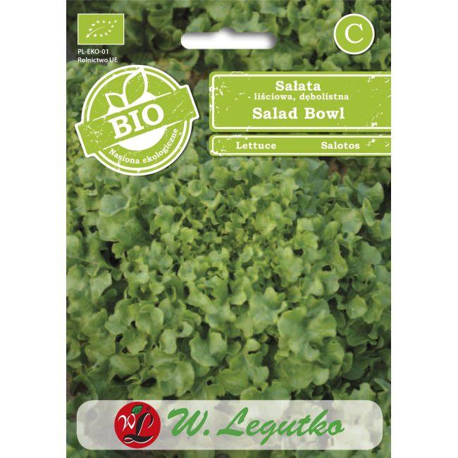 BIO - Sałata/Lactuca sativa/Salad Bowl/zielone/0.50g