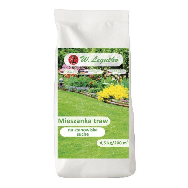 Mieszanka traw gazonowych - Na stanowiska suche/-/mieszanka odmian//4.50 kg