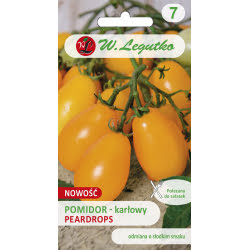 Pomidor/Solanum lycopersicum/Peardrops/żółte/0.30g