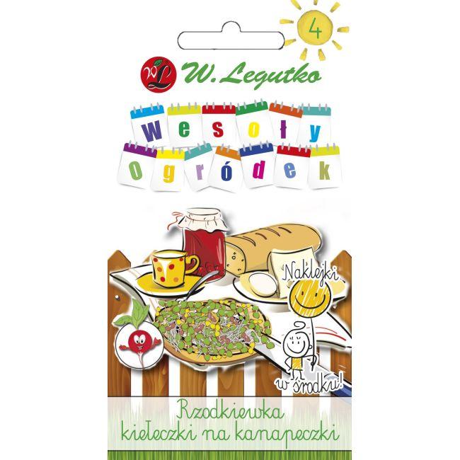 Rzodkiewka - kiełeczki na kanapeczki