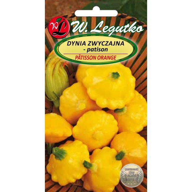 Dynia zwyczajna - patison - Patisson Orange