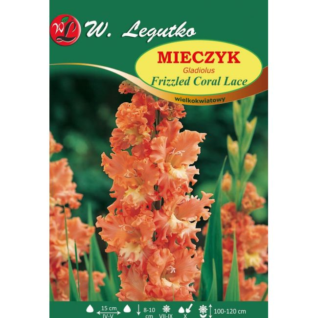 Mieczyk Frizzled Coral Lace