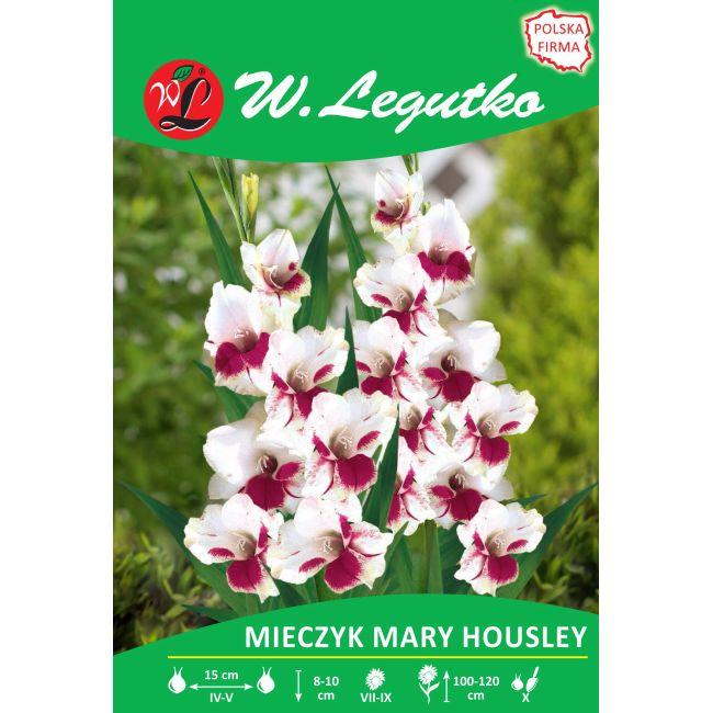 Mieczyk - Mary Housley - biało-czerwona