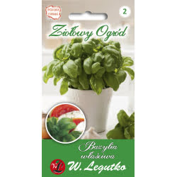 Bazylia właściwa/Ocimum basilicum//zielone/1.00g