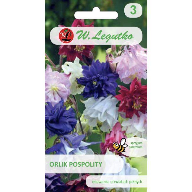 Orlik pospolity o kwiatach pełnych - mieszanka